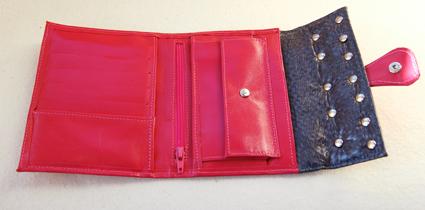 roze portemonee binnenkant